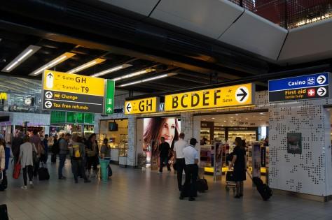 Paul Mijksenaar Bewegwijzering Schiphol Airport