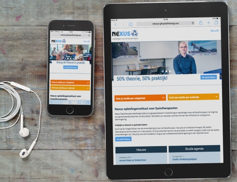 Nexus responsive website