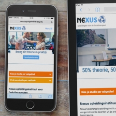 Nexus responsive website