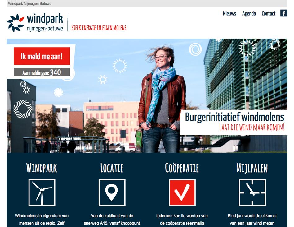Windpark Nijmegen Betuwe - homepage