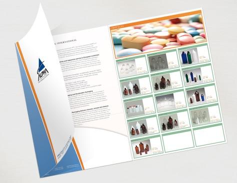 Alpha Packaging // presentatiemap
