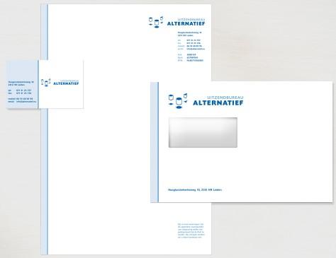 Uitzendbureau Alternatief // huisstijl