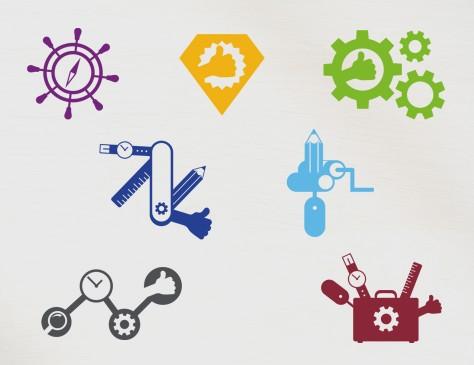 Serie pictogrammen voor AON