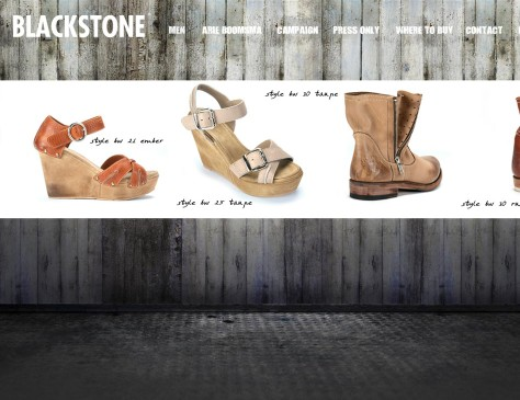 Blackstone Fashion // website women