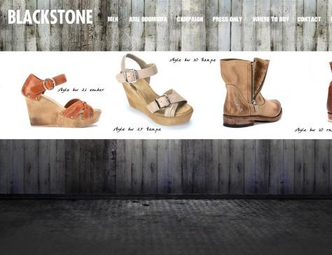 Blackstone Fashion // website women