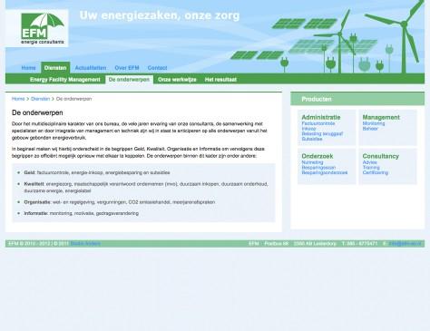 EFM-EC // website hoofditem