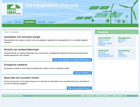 EFM-EC // website categorie