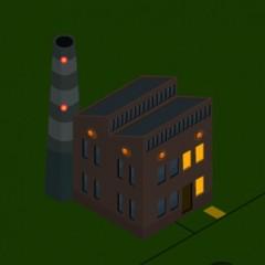 Essent // interactief energie landschap nacht
