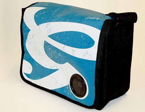 Grolsch // musicbag blue