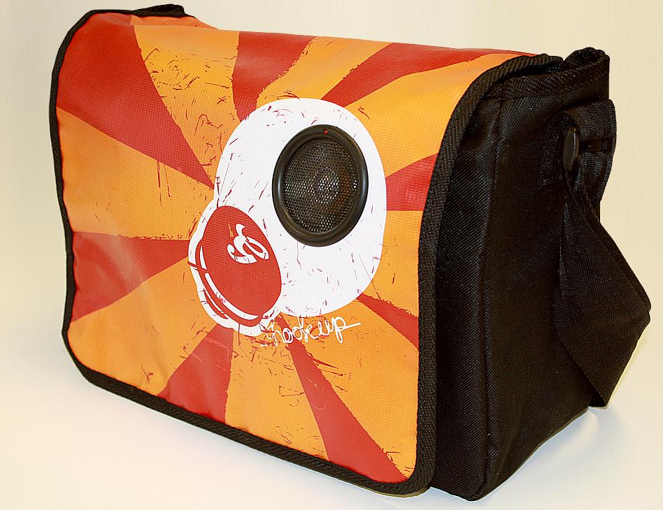 Grolsch // musicbag orange
