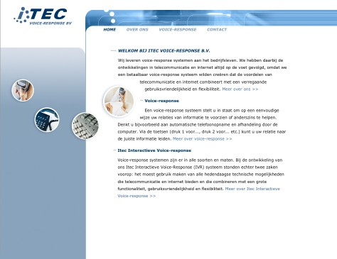 ITEC // website home