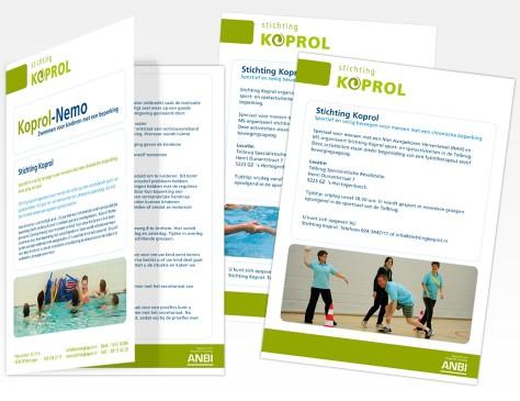 Stichting Koprol // brochure