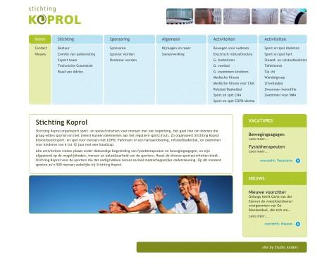Stichting Koprol // website home