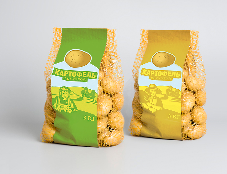 NNZ Packaging // concept pack potato
