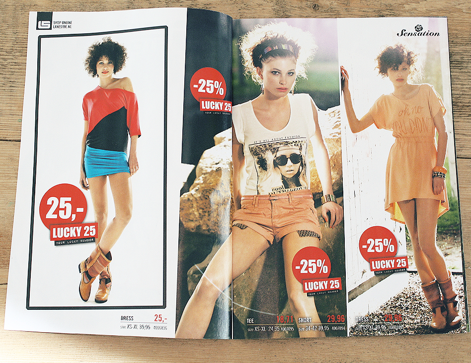 Sensation // folder zomer 2012