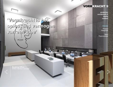 Vormkracht 9 // website home