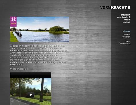 Vormkracht 9 // website blog